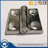 Aço inoxidável 304/316 de dobradiça de extremidade resistente industrial
