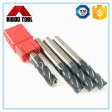 Gabinete Móvel HRC de alta velocidade45 Carbide o raio do canto final Mills para metais