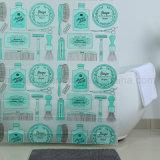 EVA пластиковые душ шторки с пользовательскими роскошный дизайн