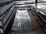 Плитки крыши Corrugated цинка листа оцинкованной стали Coated стальные