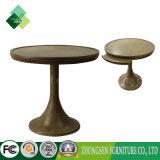 純木の円卓会議の販売のための使用されたレストランの家具