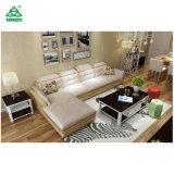 Sofà domestico elegante del sesso del cuoio del sofà della base di sofà del salone della mobilia