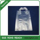 En PEBD transparent boucle doux Don Polybag sac de magasinage en plastique