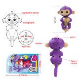 크리스마스 선물을%s 지능적인 장난감 대화식 작은 물고기 아기 원숭이 행복한 원숭이