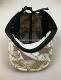 La moda Unisex 5 pico plano del panel de Camper Hat