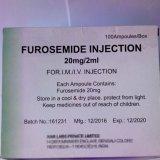 inyección L de la furosemida 20mg/2ml para la diurética de gran alcance