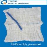 高品質の非洗浄されたラップのスポンジ35cmx35cm-12ply