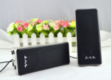 Altofalantes baixos prendidos do portátil do USB 2.0 do altofalante mini portáteis e fáceis usar altofalantes/som