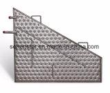 Échange de chaleur industrielle en acier inoxydable Plaque plaque d'oreiller