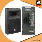 15 Spreker van Bluetooth van de Macht van de duim de Professionele 200W Plastic Actieve met FM pS-0615abt