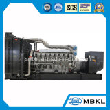 Hoge Prestaties! De Motor van Mistubishi in Diesel van Shanghai 1600kw/2000kVA Open Generator wordt gemaakt die