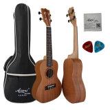 Aiersi 도매 24 인치 도마뱀 디자인 나무로 되는 기타 우쿨렐레