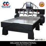 Резец Woodworking автомата для резки маршрутизатора CNC высекая гравировальный станок машины (VCT-2225FR-8H)