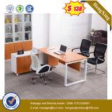 Moderne Büro-Stahlmöbel L Form-Kirschbüro-Tisch (UL-MFC263)
