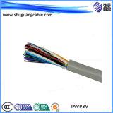 PVC изолировал обшитый PVC кабель аппаратуры