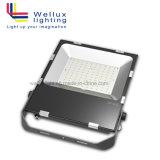 Outdoor IP66 150W 90 lm/W Projecteur à LED CMS avec garantie de 5 ans