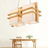 Chinesische moderne hölzerne Dekoration-Art-Decken-hängendes Licht