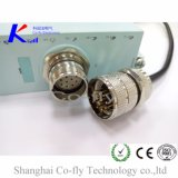 Защищаемый мужчина & женские электронная кабельная фишка Pin M23 12, 17, 19 & гнездо
