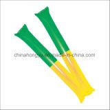 Bastone incoraggiante gonfiabile del PE promozionale/bastone gonfiabile di scoppio di scoppio bastone di tuono