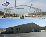 China prefabricó hangares estructurales y el almacén de la viga de acero