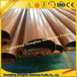 6063 T5 3D du grain du bois pour le tube de profil profil en aluminium