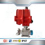 Actuador eléctrico de la aleación al por mayor de la C.C. 220V de la fábrica para la válvula de mariposa