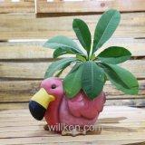Животное типа страны ваяет украшение цветочного горшка с хорошим качеством