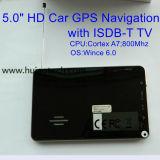 """대중적인 5.0 """" 주춤함 6.0 이중 800 MHz CPU 의 주차 사진기 GPS 항해자 시스템을%sAV 에서 FM 전송기를 가진 차 트럭 바다 GPS 항법, 장치를 추적하는 Tmc"""