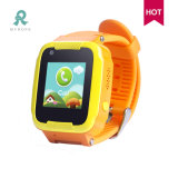 Sos enfants Ibutton Lbs WiFi GPS tracker montre avec message vocal