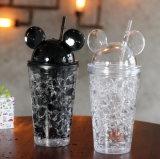 Cute Les caricatures Mickey Creative Sucker Coupe de glace estivale en plastique