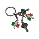 工場供給の安いカスタム金属のKeychainのステンレス鋼Keychain