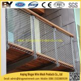Acoplamiento del balcón de la escalera de la barandilla del puente de cuerda de acero inoxidable