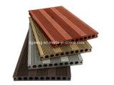 Suelo al aire libre de gama alta de Eco WPC/tipo de madera Decking compuesto del PE