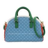 Dekbed Dame Handbag Contrast Color Handbag