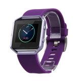 Faixa de relógio de silicone de fitness de substituição para Fitbit Blaze Smart Watch, para Fitbit Blaze Banda da Correia