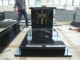 Monumento preto absoluto do granito