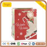 O saco de Christmasred calç o saco de papel