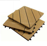 Anti revestimento UV de WPC/telha impermeável do Decking/placa de madeira do PE para o assoalho