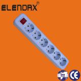 10/16A cavo di alimentazione europeo di estensione dell'interruttore di modo di stile 3 (E8003ES)