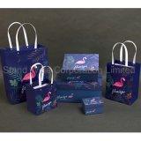 Boîte de dialogue Format personnalisé avec sac de cadeaux, Flamingo Carton Boîte d'emballage du papier