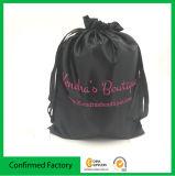 Nuovo sacchetto personalizzato del raso con il sacchetto del regalo dei monili di stampa di marchio