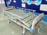 3개의 크랭크 수동 의학 침대