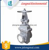 Válvula de escape de cerámica antiusura de la escoria con alta calidad