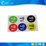 Etiqueta impresa aduana de la etiqueta engomada del Hf 13.56MHz Ntag213/Ntag216 RFID NFC