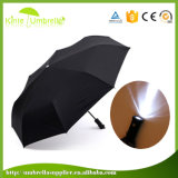 中国の製造業者の卸売の方法軽い折るLED傘