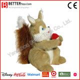 En71 vulde het Dierlijke Stuk speelgoed van de Pluche van de Eekhoorn Zachte voor Jonge geitjes/Kinderen