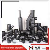 Alta qualità accessorio per tubi nazionale di plastica del T del gomito dell'acqua da 3 pollici