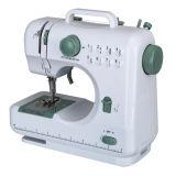 Máquina de coser del mini punto de cadeneta eléctrico del zigzag de la fábrica de 505 China industrial