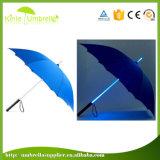 최신 판매 2017 새로운 디자인 똑바른 승진 LED 우산
