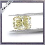 De hete Lichtgele Steen Moissanite van de Verkoop voor de Juwelen van het Huwelijk